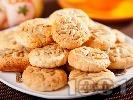 Рецепта Овесени бисквити със слънчогледови семки и кокосови стърготини